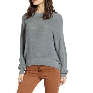 NWT BP. Gray Lightweight Sweater, Sz XXS